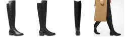 Michael Kors Bromley Leather Riding Boots