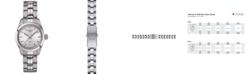 Tissot Women's Swiss T-Classic PR 100 Gray Stainless Steel Bracelet Watch 25mm