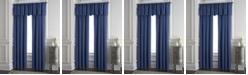 "Colcha Linens Cambric Denim Lined Drapery Panel 52""x84"" - Each"