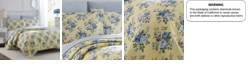 Laura Ashley Twin Linley Yellow Quilt Set