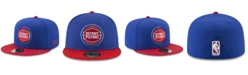 New Era Detroit Pistons Basic 2 Tone 59FIFTY Fitted Cap