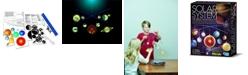 Redbox 4M Kidzlabs Glow In The Dark Solar System Mobile Making Kit