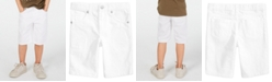 Epic Threads Little Boys White Denim Shorts, Created for Macy's