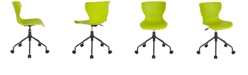 Flash Furniture Brockton Contemporary Design Citrus Green Plastic Task Chair