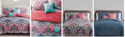 VCNY Home Casa Re`al Reversible 4-Pc. Comforter Set Collection