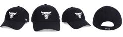 '47 Brand Chicago Bulls Black White MVP Cap