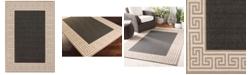 """Surya Alfresco ALF-9626 Black 7'6"""" x 10'9"""" Area Rug, Indoor/Outdoor"""