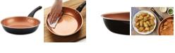"""Farberware Glide Copper Ceramic Nonstick 10"""" Skillet"""
