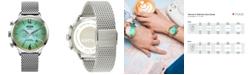 WELDER Women's Stainless Steel Mesh Bracelet Watch 38mm
