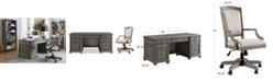 Furniture Sloane Home Office, 2-Pc. Set (Executive Desk & Upholstered Desk Chair), Created for Macy's