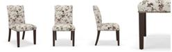 Martha Stewart Collection Lexington Nail Button Dining Chair, Quick Ship