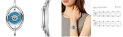 Tory Burch Women's Evil Eye Stainless Steel Bangle Bracelet Watch 25mm