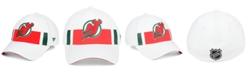 Authentic NHL Headwear New Jersey Devils Alternate Jersey Speed Flex  Stretch Fitted Cap