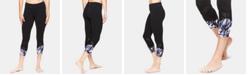 Gaiam Om Align Printed Capri Leggings