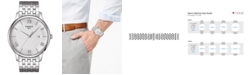 Tissot Men's Swiss T-Classic Tradition Stainless Steel Bracelet Watch 42mm
