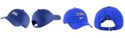 Nike Duke Blue Devils H86 Wordmark Swoosh Cap
