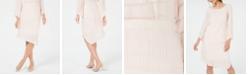 Alfani Petite Novelty Pointed-Hem Midi Skirt, Created for Macy's