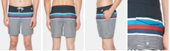 Original Penguin Men's Stripe Swim Trunks