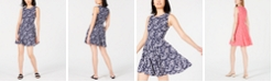 Maison Jules Fit & Flare Dress, Created for Macy's