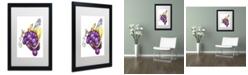 "Trademark Global Jennifer Nilsson Friendship is Sweet Matted Framed Art - 16"" x 20"" x 0.5"""