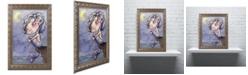 """Trademark Global Jennifer Nilsson Tattered Wings Ornate Framed Art - 11"""" x 14"""" x 0.5"""""""