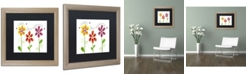 "Trademark Global Jennifer Nilsson Count your Blessings Matted Framed Art - 11"" x 14"" x 0.5"""