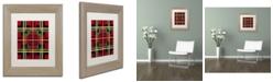 "Trademark Global Jennifer Nilsson Bright New Matted Framed Art - 16"" x 16"" x 0.5"""