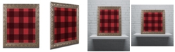 "Trademark Global Jennifer Nilsson Red Buffalo 2 Ornate Framed Art - 16"" x 16"" x 0.5"""