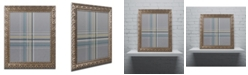 "Trademark Global Jennifer Nilsson Silver Blue Dark Ornate Framed Art - 16"" x 20"" x 0.5"""