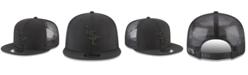 New Era LSU Tigers Black on Black Meshback Snapback Cap