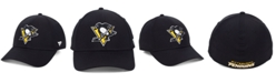 Authentic NHL Headwear Pittsburgh Penguins Basic Flex Stretch Fitted Cap