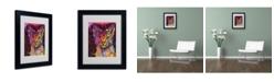 "Trademark Global Dean Russo 'Abyssinian' Matted Framed Art - 14"" x 11"" x 0.5"""