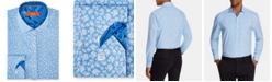Tallia Men's Slim-Fit Floral Graphic Shirt