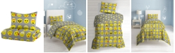 Dream Factory Emoji Twin Comforter Set