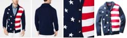 Club Room Men's American Flag Cardigan, Created for Macy's