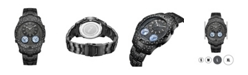 Jbw Men's Jet Setter III Diamond (1 ct.t.w.) Black Ion-Plated Stainless Steel Watch