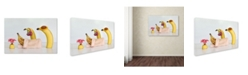 "Trademark Global Jacqueline Hammer 'Sick Banana' Canvas Art - 32"" x 22"" x 2"""
