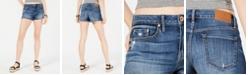 American Rag Juniors' Frayed Denim Shorts, Created for Macy's