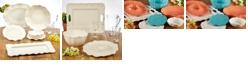 Certified International Perlette Cream Melamine Dinnerware Collection