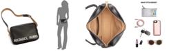 Michael Kors Leather Logo-Print Belt Bag, Created for Macy's