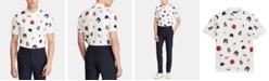 Polo Ralph Lauren Men's Big & Tall Chariots Classic-Fit Mesh Graphic Polo Shirt