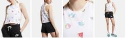 Nike Sportswear Cotton Printed Cropped Tank Top