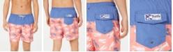 "Trunks Surf & Swim Co. Men's Lobster Colorblocked 6"" Board Shorts"