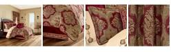 J Queen New York J Queen Maribella Crimson Califronia King Comforter Set