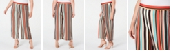 NY Collection Petite Plus Size Printed Gaucho Pants