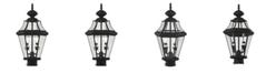 Livex Georgetown 2-Light Outdoor Post Lantern