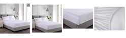 Epoch Hometex inc Cottonloft Stayclean Cotton Water and Stain Resistant Fitted Bed Protector Set