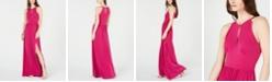 Michael Kors Keyhole Maxi Dress, in Regular and Petite