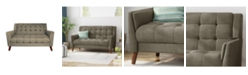 "Noble House Candace 54"" Loveseat"