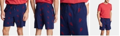 Nautica Men's Cotton Lobster-Print Pajama Shorts